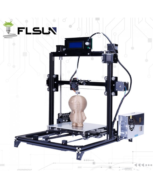 FLSUN Metal Frame i3 3D Printer Kit w/ Auto leveling