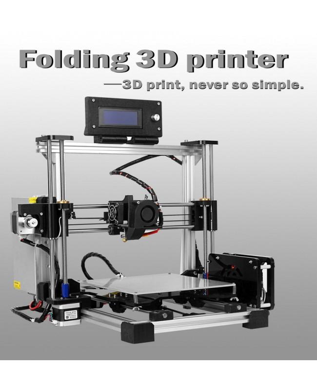 MaxMicron Foldbot-Folding type 3D Printer DIY KIT