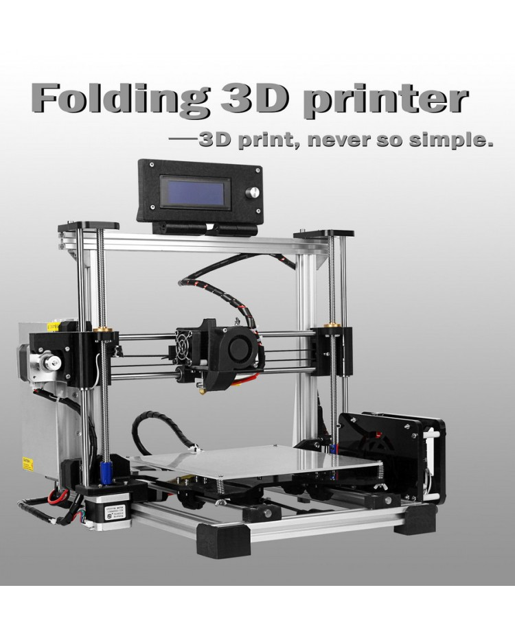 Folding Type 3D Printer DIY KIT