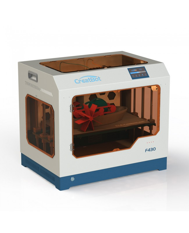 CreatBot F430 Direct Drive Dual Extruder 3D Printer - 420°C Dual Hot ends