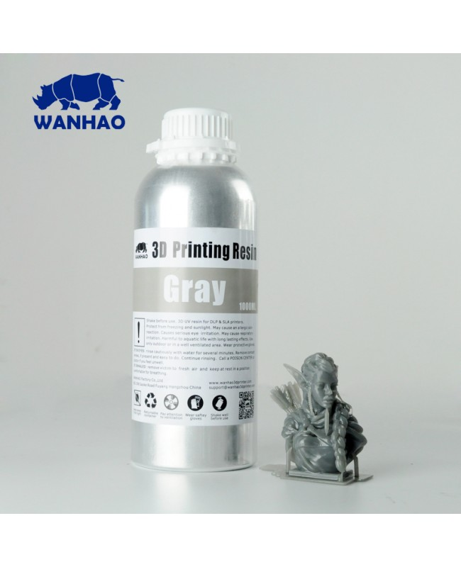 Wanhao Water Washable 3D Printing Resin - 1L