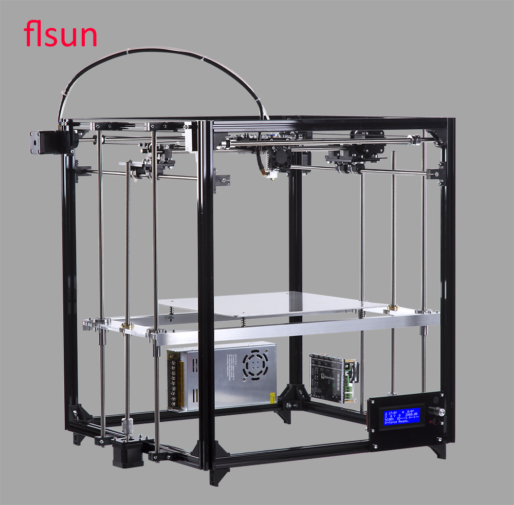 Flsun cube large scale 3d printer kit 3d printers bay for 3d printer layouts