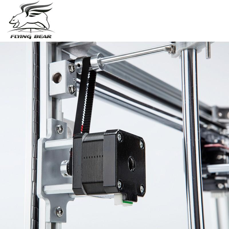 4 flyingbear p902 full metal large build size diy 3d printer kit 3d  at fashall.co