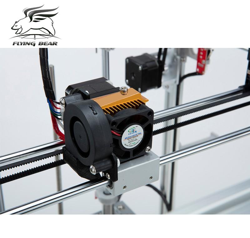 5 flyingbear p902 full metal large build size diy 3d printer kit 3d  at fashall.co