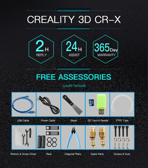 Creality 3D CR-X 3D Printer