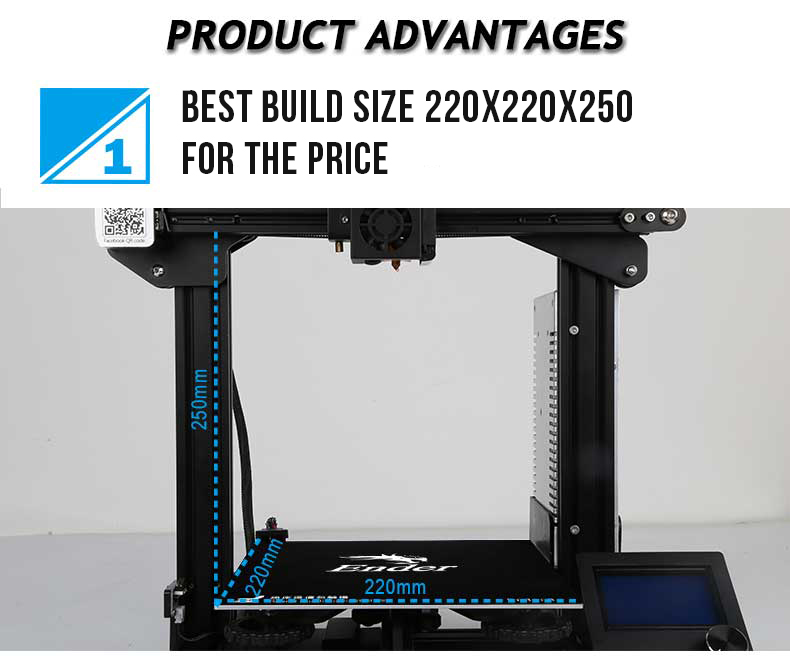 Creality Ender 3 V Slot 3D Printer Kit