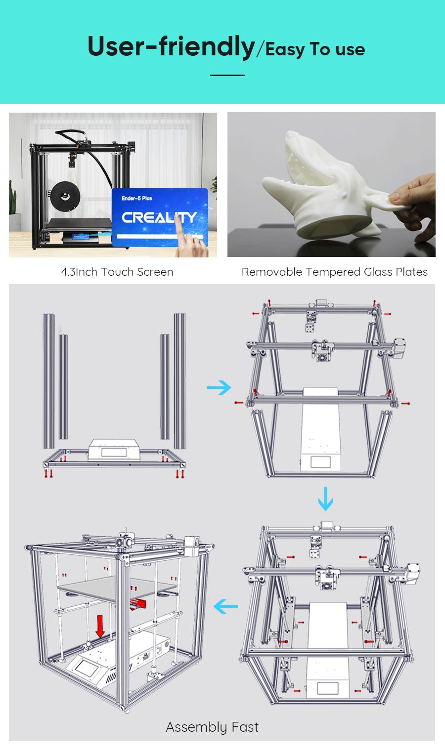Creality Ender 5 Plus 3D Printer