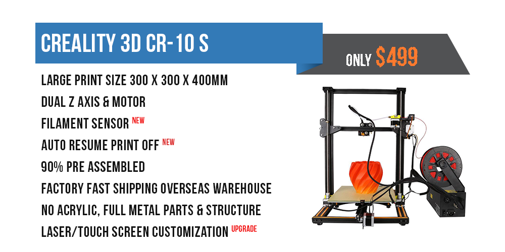 Creality CR-10 S4 400