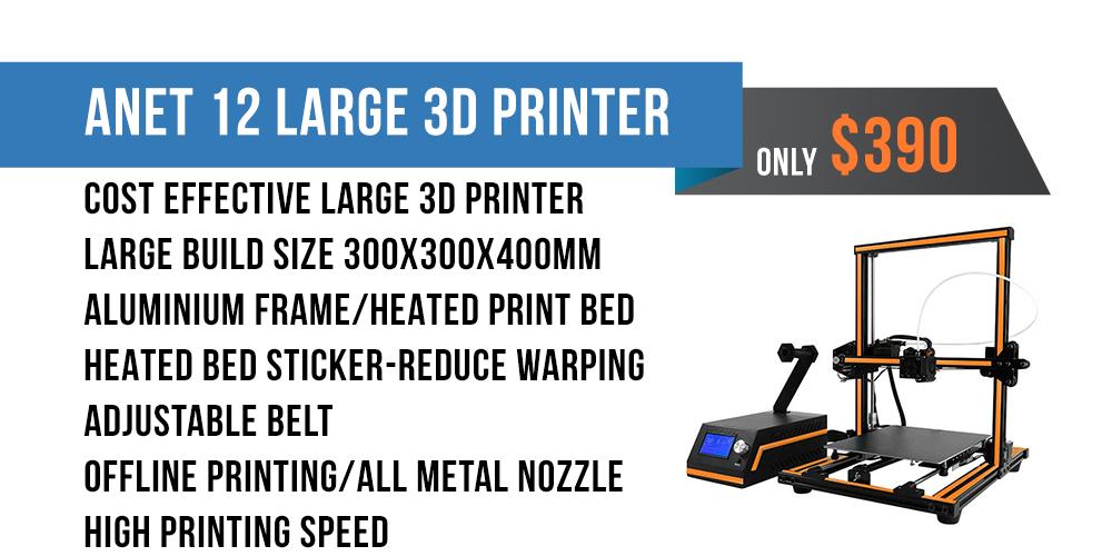 Anet E12 Large 3D Printer