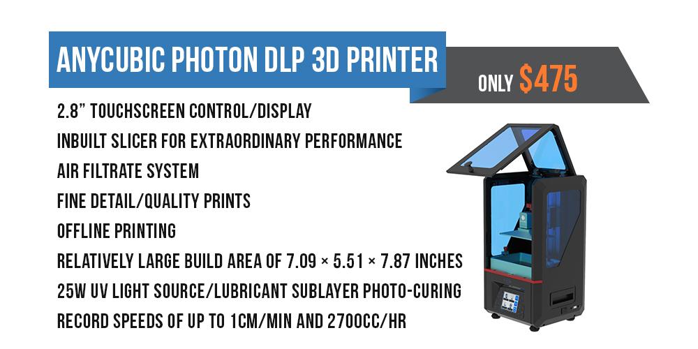 Anycubic Photon SLA 3D Printer