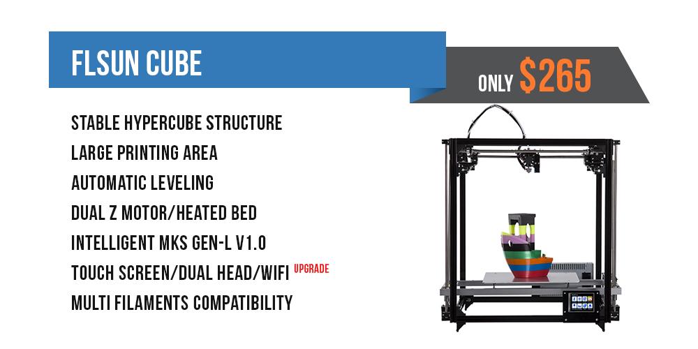 FLSUN Cube Large 3D Printer