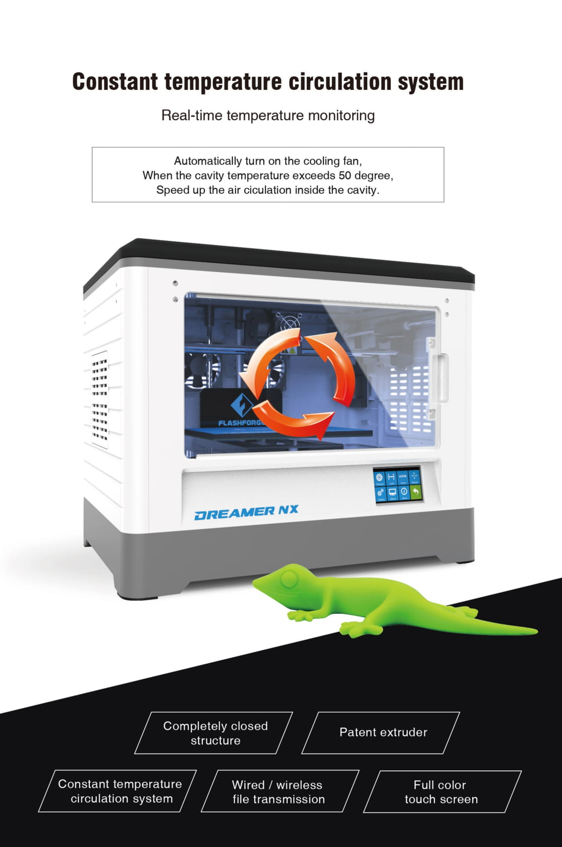 Flashforge Dreamer NX Desktop 3D Printer