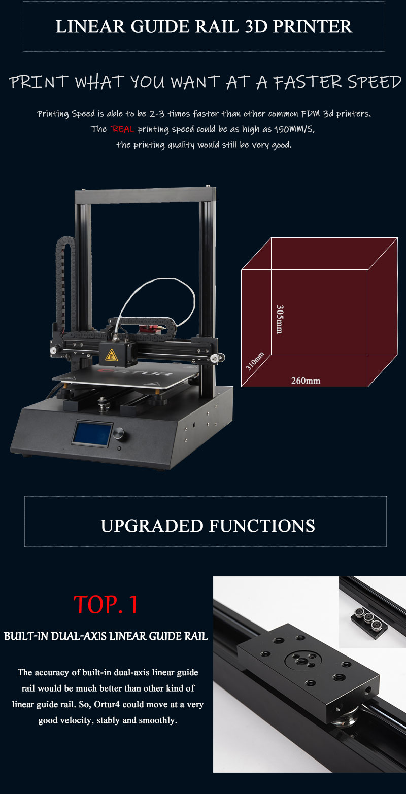 Ortur-4 3D Printer