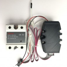 Solid state relay upgrade for Formbot T-Rex 2+ Heated bed